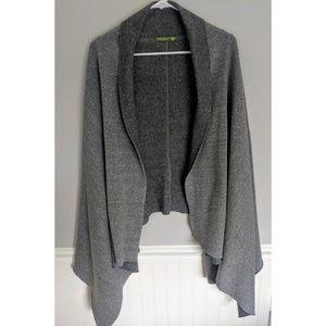 Alternative Earth grey oversized cardigan